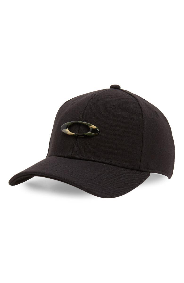 OAKLEY Tincan Ball Cap, Main, color, BLACK/ GRAPHIC CAMO