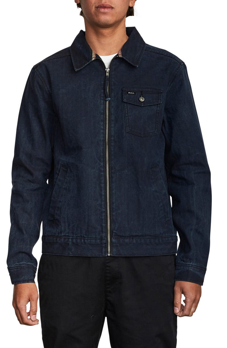 RVCA Hi-Grade Denim Jacket, Main, color, 415
