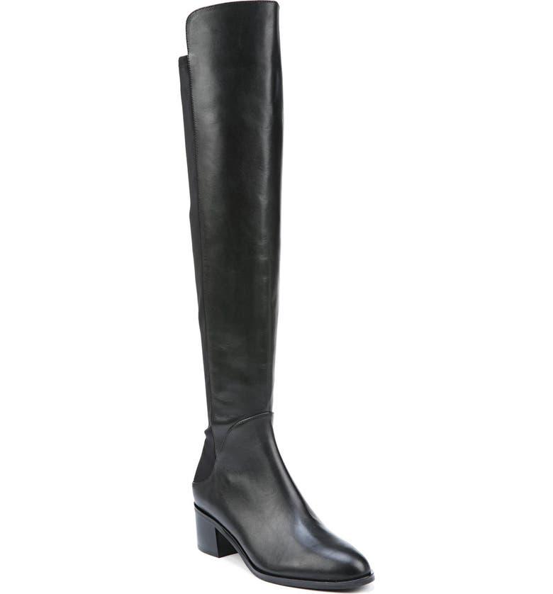 VIA SPIGA 'Breanna' Over the Knee Boot, Main, color, 001