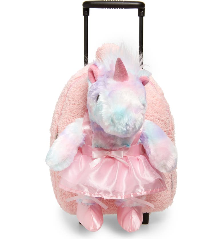 POPATU Ballet Unicorn Trolley Backpack, Main, color, PINK