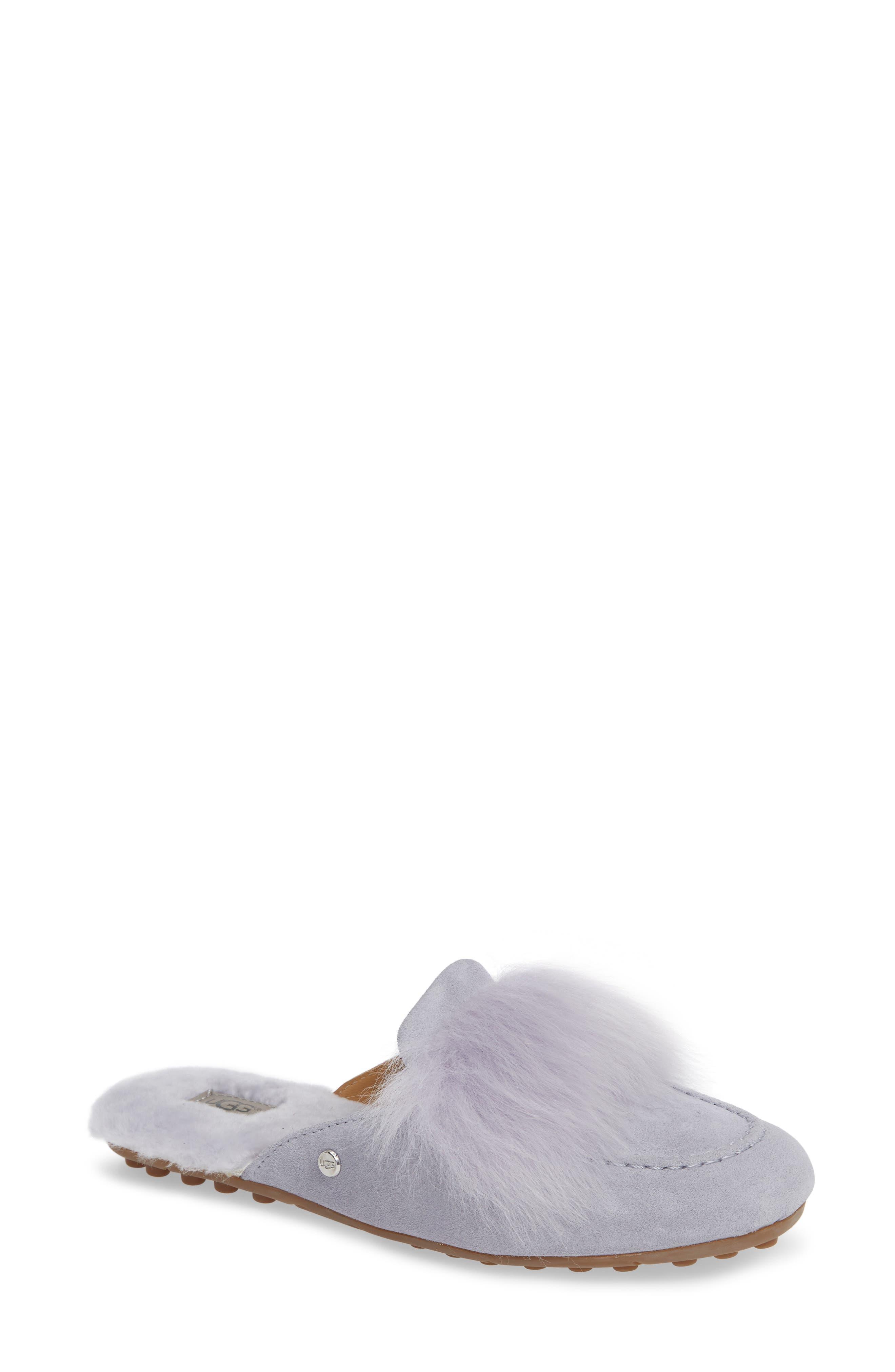 ,                             Shaine Wisp Genuine Shearling Slipper,                             Main thumbnail 8, color,                             400