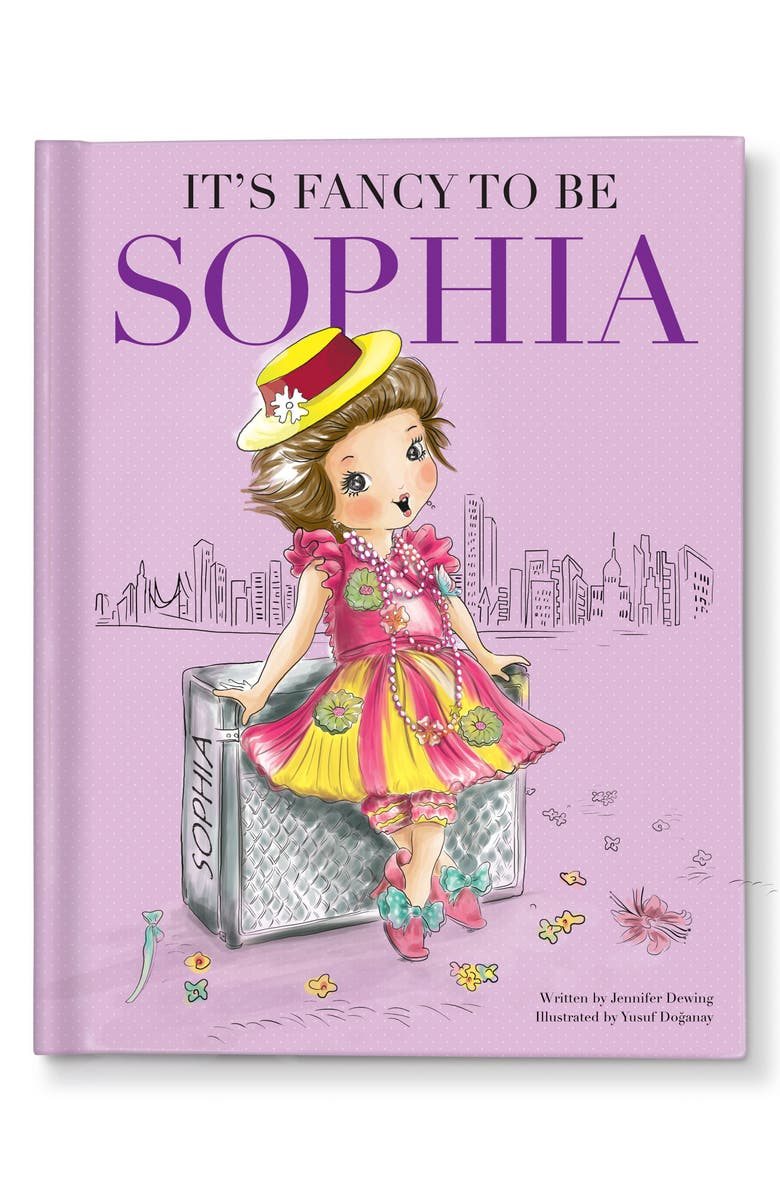 I SEE ME! 'It's Fancy To Be Me' Personalized Book, Main, color, PURPLE