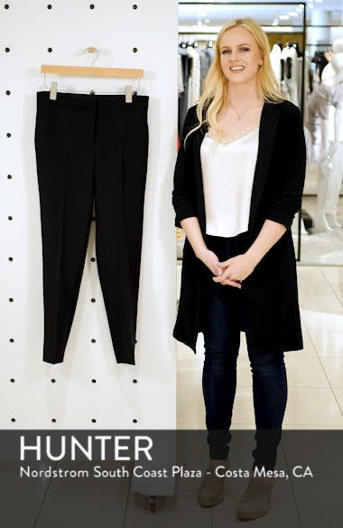 Milano Twill Skinny Ankle Pants, sales video thumbnail