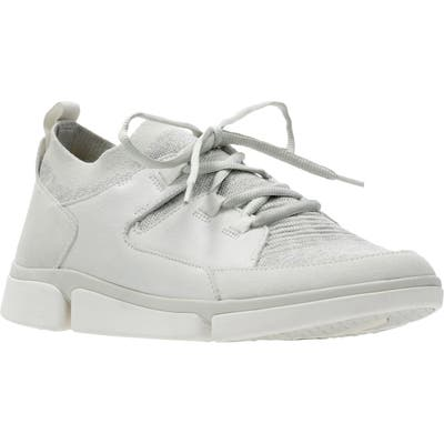 Clarks Triverve Free Sneaker- White
