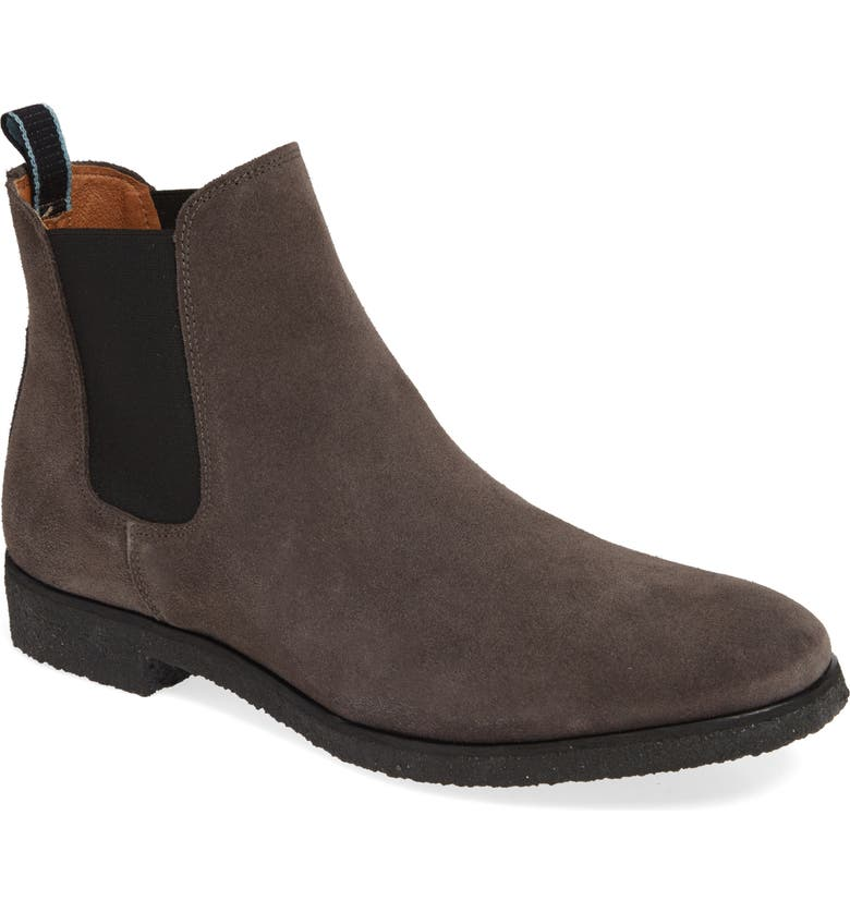 SHOE THE BEAR Kelvin Chelsea Boot, Main, color, GREY SUEDE