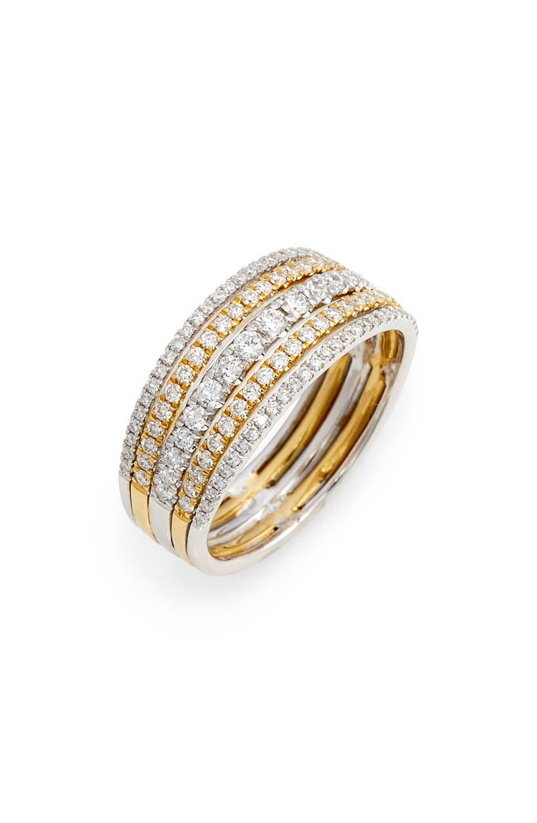 BONY LEVY Diamond Stack Ring, Main, color, 713