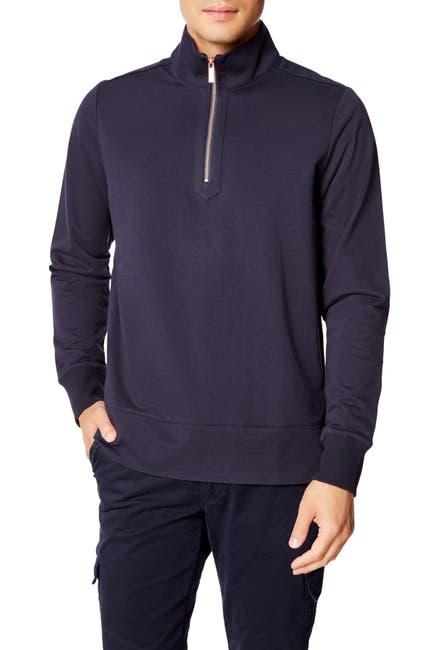 Image of Good Man Brand Microlight French Terry Half Zip Pullover Sweatshirt