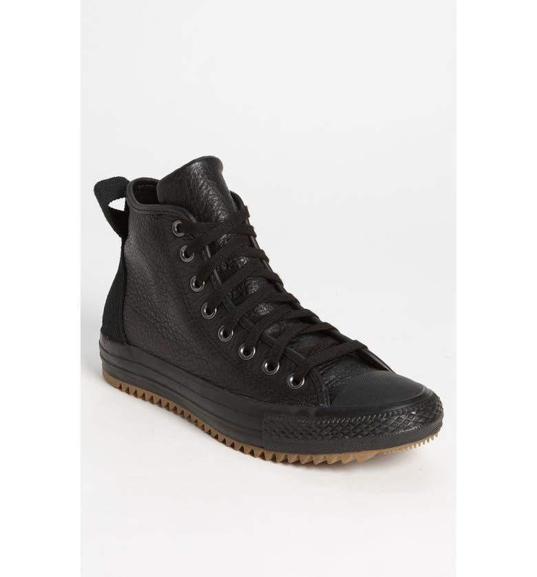 CONVERSE Chuck Taylor<sup>®</sup> 'Hollis' High Top Sneaker, Main, color, 001