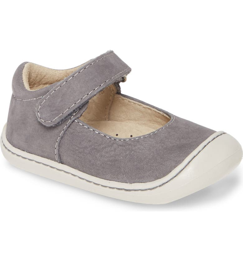 FOOTMATES Stacy Mary Jane, Main, color, GRAY SOFT-TOUCH