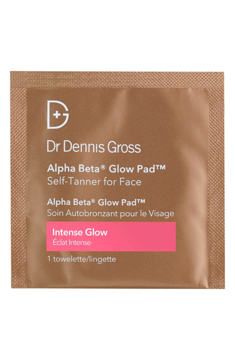 DR. DENNIS GROSS Skincare Alpha Beta<sup>®</sup> Glow Pad<sup>™</sup> for Face, Main, color, NO COLOR