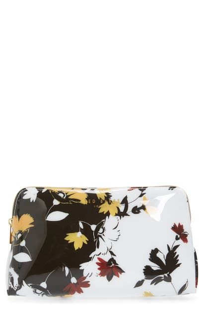 Ted Baker Heelani Savanna Cosmetics Case In White