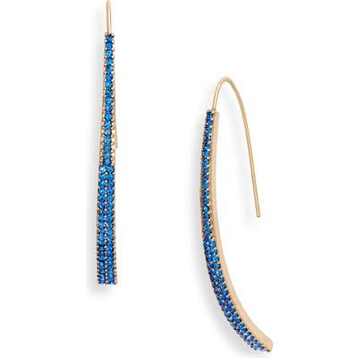 Stella + Ruby Linear Threader Earrings