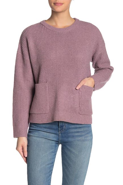 Image of MELLODAY Two Pocket Pullover Sweater