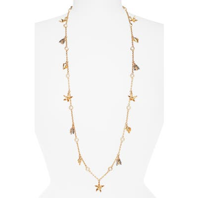 Tory Burch Poetry Of Things Rosary Station Necklace