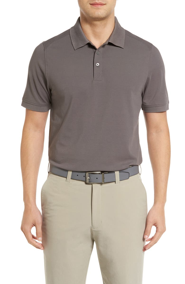 CUTTER & BUCK Advantage Golf Polo, Main, color, ELEMENTAL