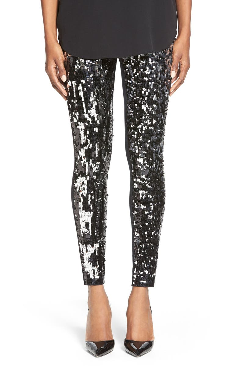 fa8adfd781b93 Nordstrom Sequin Front Leggings | Nordstrom