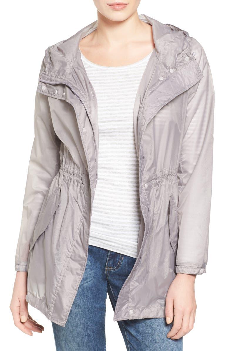 ANDREW MARC Teri Translucent Rain Jacket, Main, color, 068