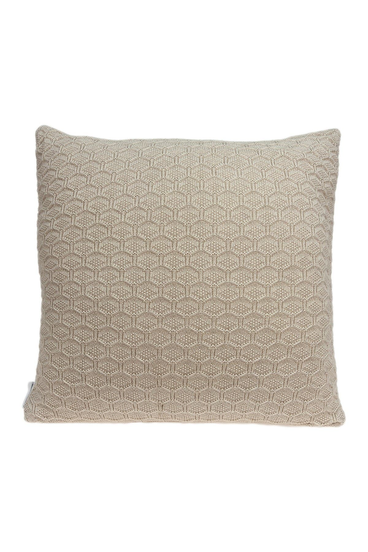 "Image of Parkland Collection Mira Transitional Pillow - 20"" x 20"" - Tan"