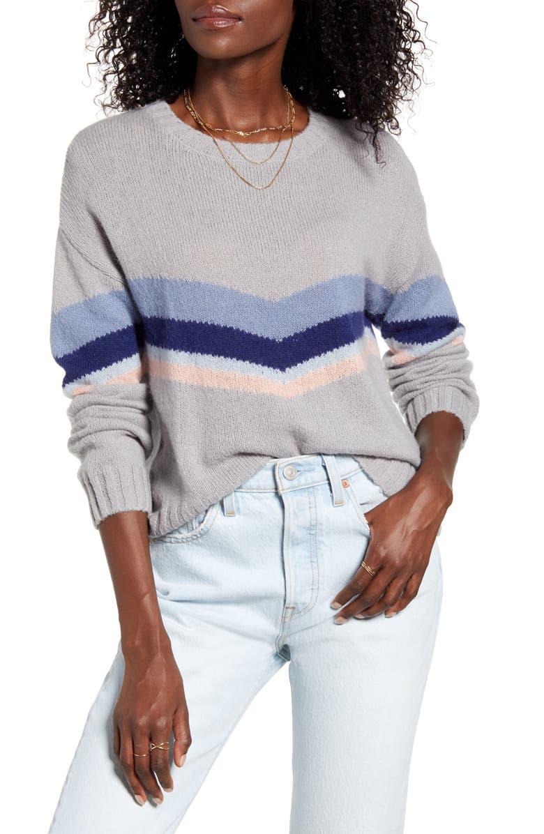 RAILS Perci Sweater, Main, color, LAKESIDE CHEVRON STRIPE