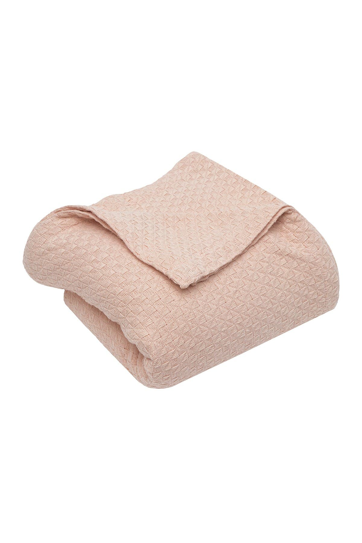"""Image of Duck River Textile King Carrie Cotton Throw Blanket - Blush - 90"""" x 104"""""""