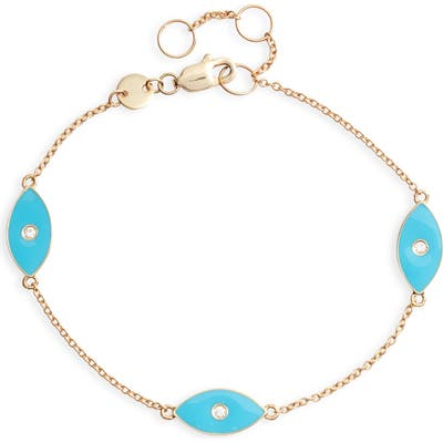 Jennifer Zeuner Nazar Enamel Trio Bracelet