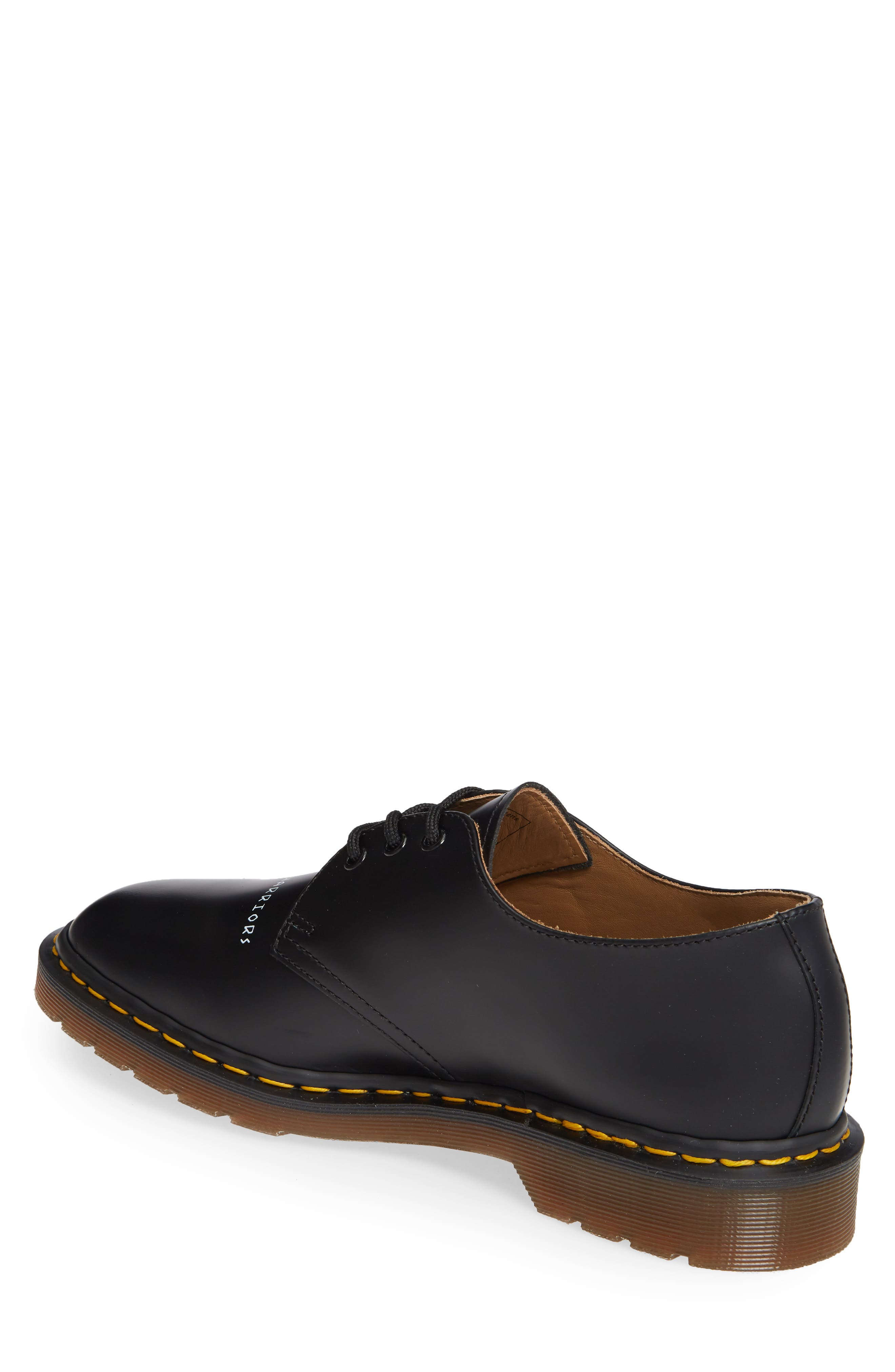 ,                             x UNDERCOVER 1461 Derby,                             Alternate thumbnail 2, color,                             BLACK LEATHER