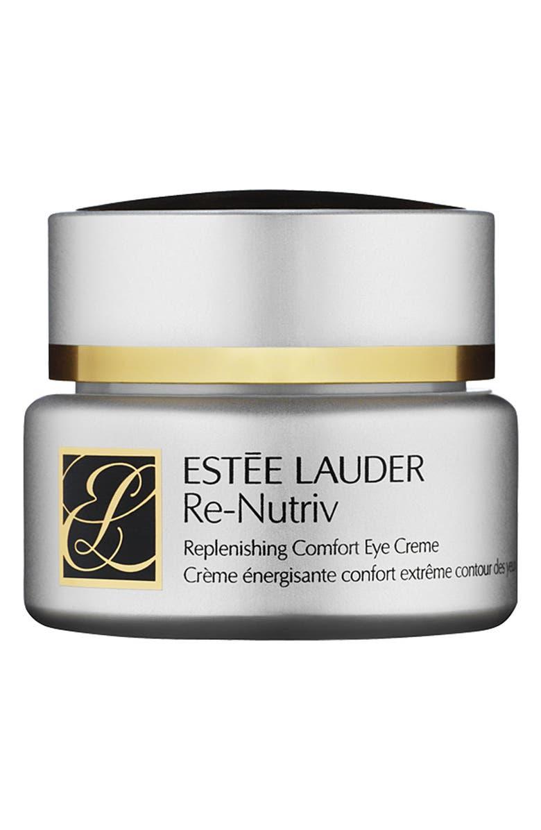 ESTÉE LAUDER Re-Nutriv Replenishing Comfort Eye Crème, Main, color, NO COLOR