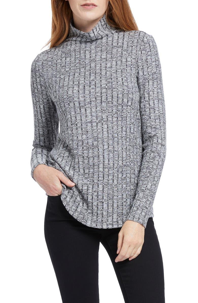 NIC+ZOE Champion Turtleneck Sweater, Main, color, 020