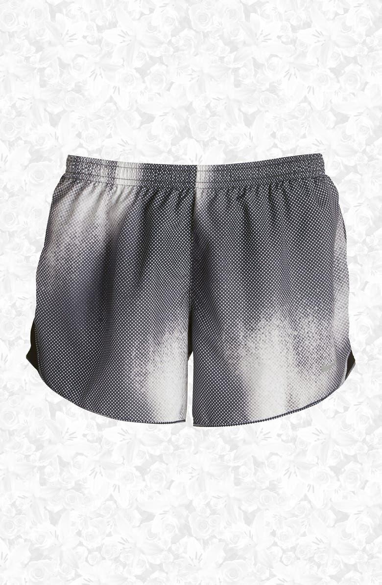 NIKE 'Modern Tempo' Print Dri-FIT Shorts, Main, color, 010