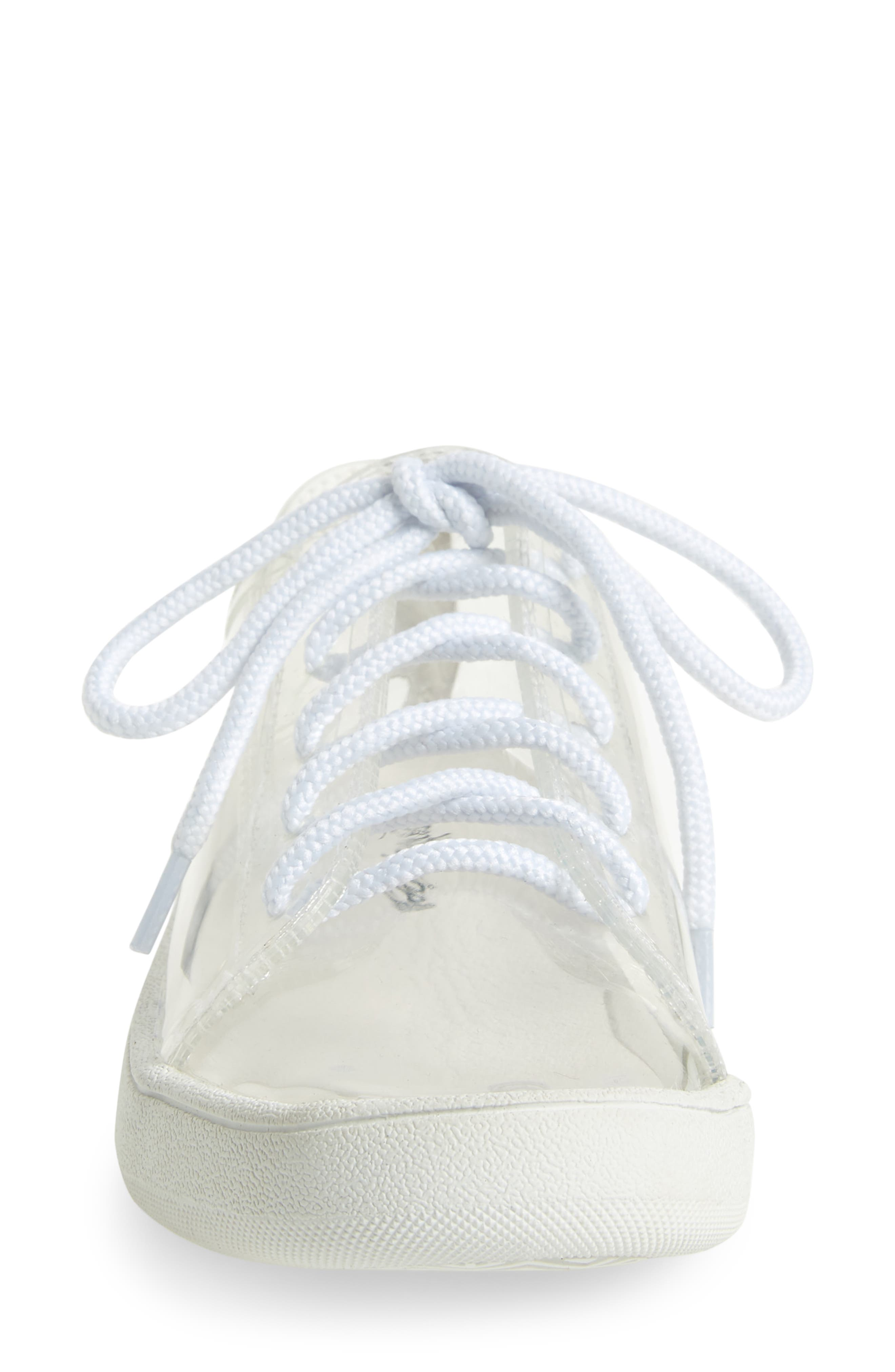 ,                             Ganador 2 Clear Low Top Sneaker,                             Alternate thumbnail 4, color,                             186
