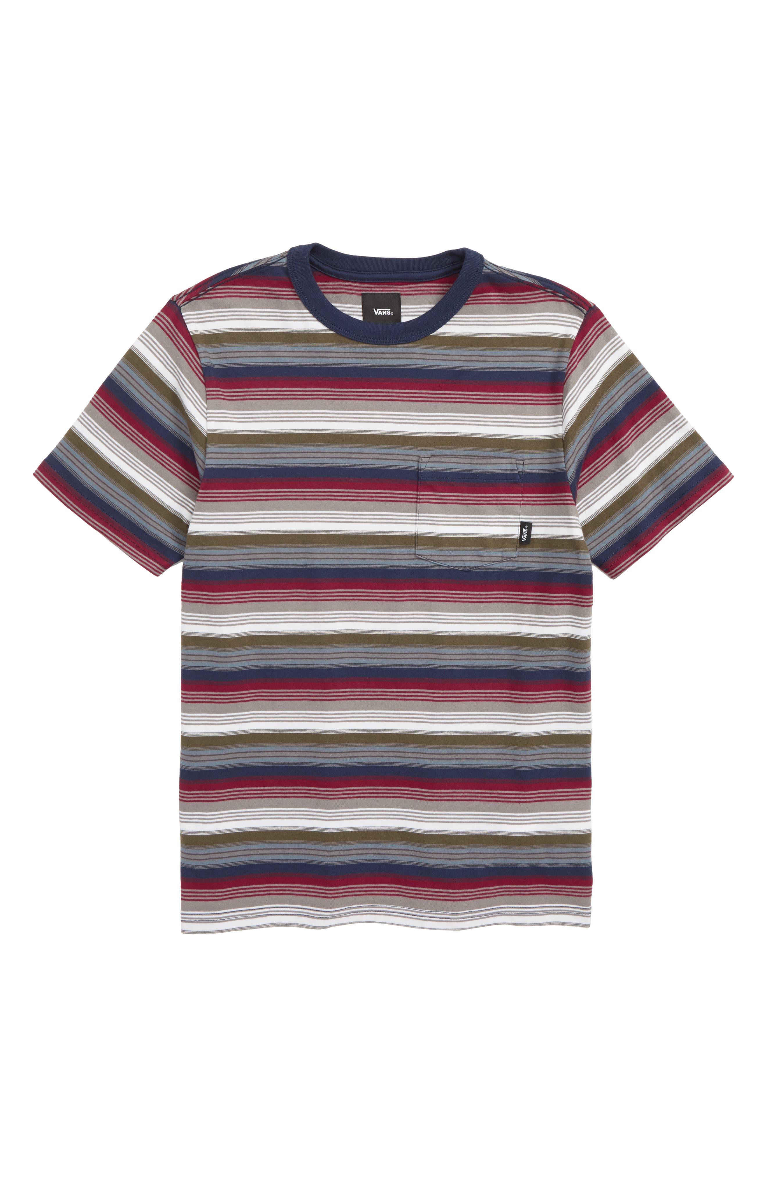 ,                             Redmond Stripe T-Shirt,                             Main thumbnail 3, color,                             610