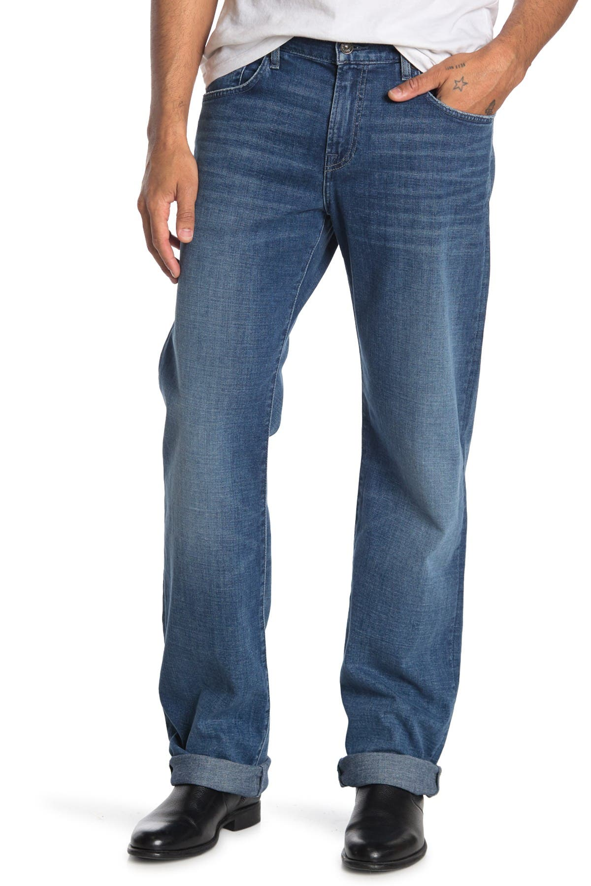 "Image of 7 For All Mankind Austyn 36"" Inseam"