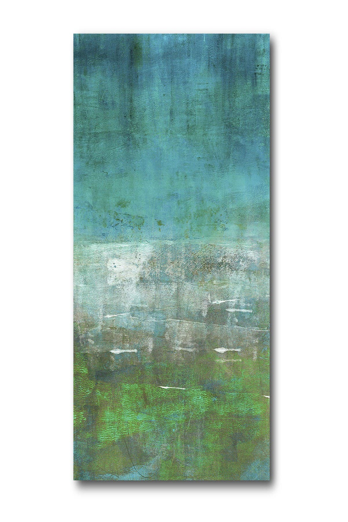 """Image of COURTSIDE MARKET Green Oasis 96"""" x 45"""" Mural"""