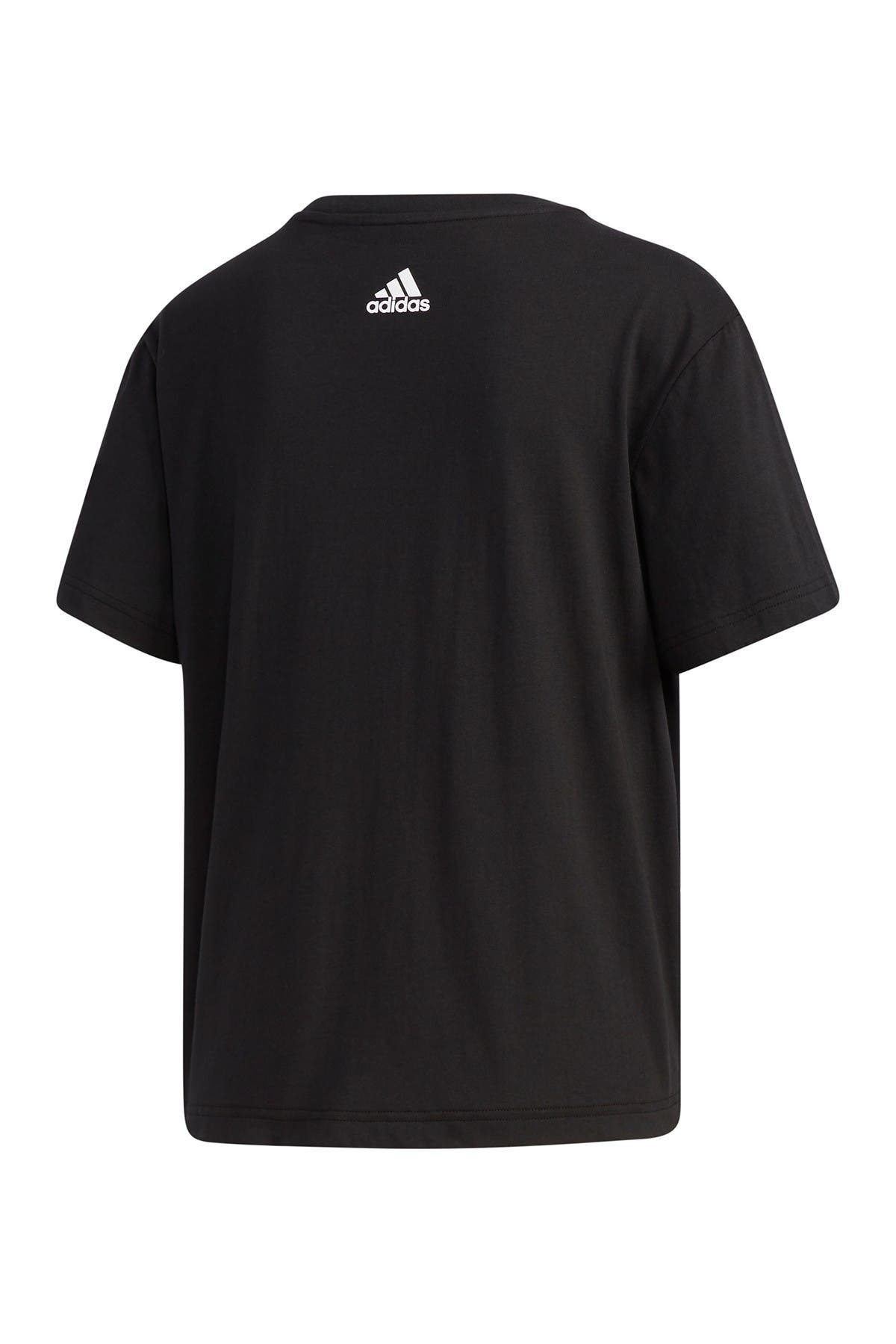Image of adidas Brand Print Short Sleeve T-Shirt