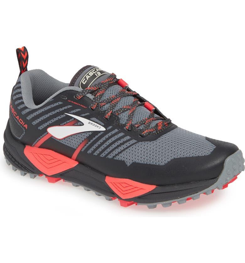 BROOKS Cascadia 13 Trail Running Shoe, Main, color, 091