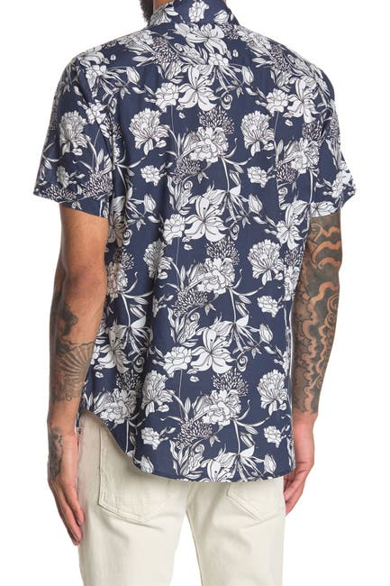 Image of Robert Graham Meadow Lake Short Sleeve Woven Shirt