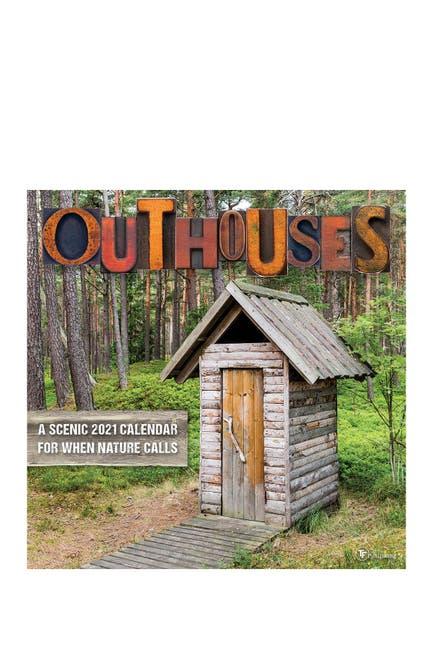 Image of TF Publishing 2021 Outhouses Wall Calendar