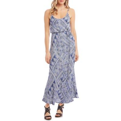 Karen Kane Sleeveless Maxi Dress, Blue