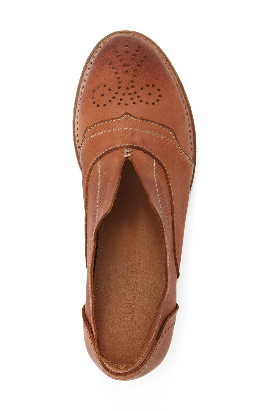 ,                             'HL55' Slip-On Oxford,                             Alternate thumbnail 3, color,                             RUSTY BROWN LEATHER