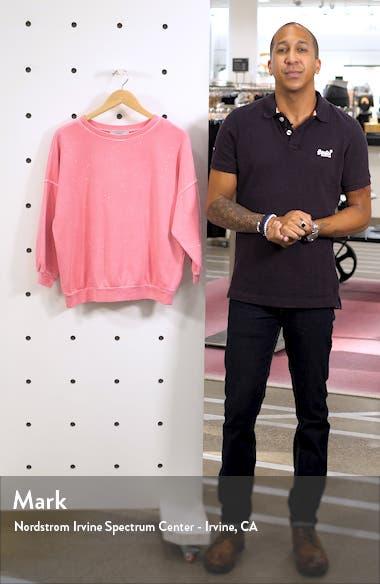 Storn Splatter Sweatshirt, sales video thumbnail