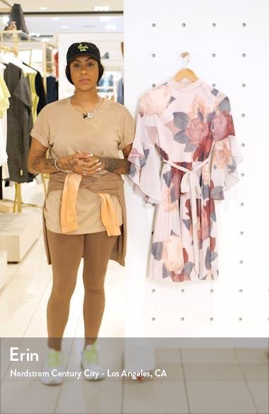 Florentia Floral Print Cocktail Dress, sales video thumbnail