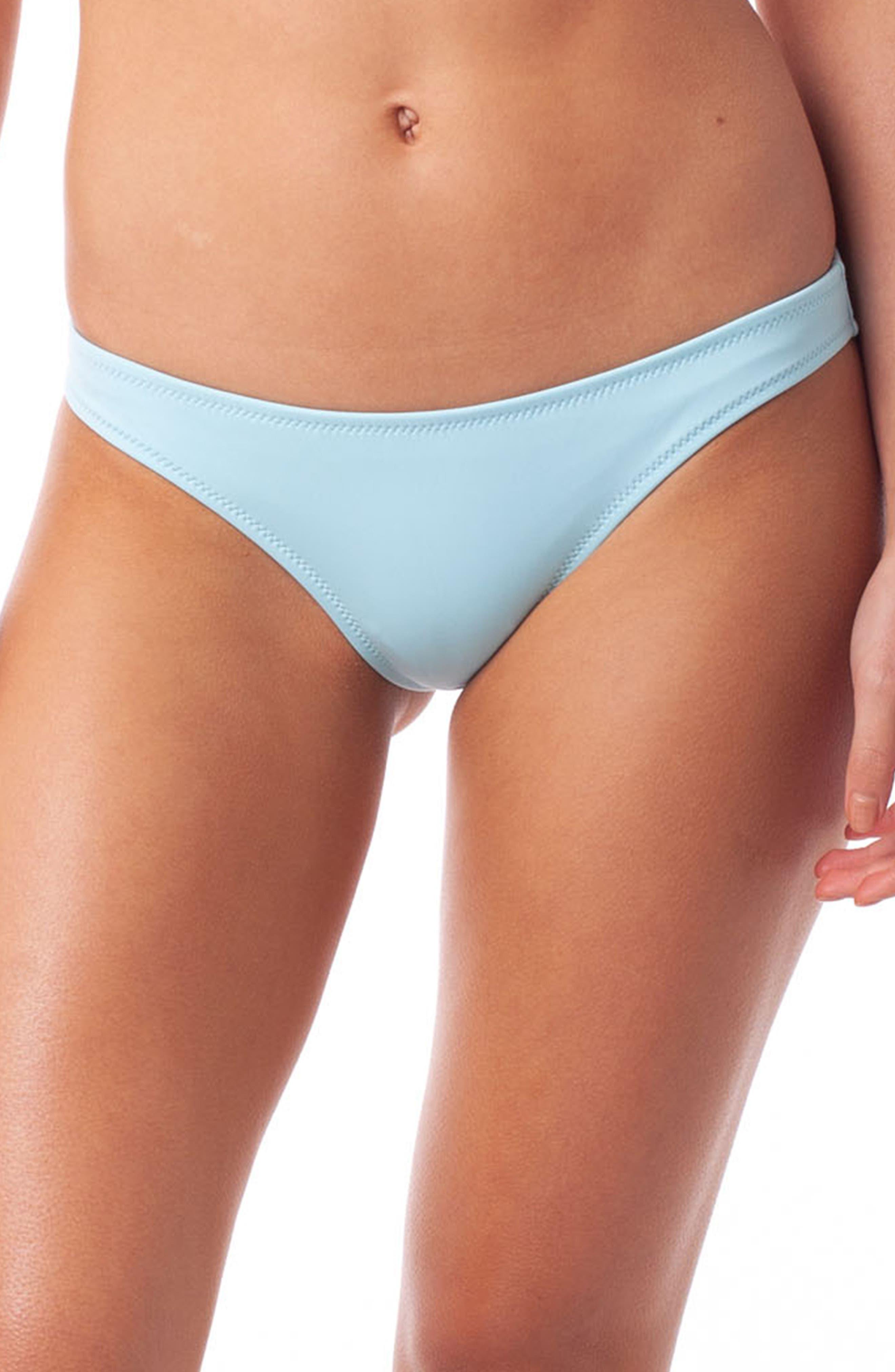 Rhythm Islander Beach Bikini Bottoms, Blue