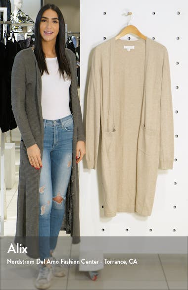 Calli Open Front Longline Cardigan, sales video thumbnail