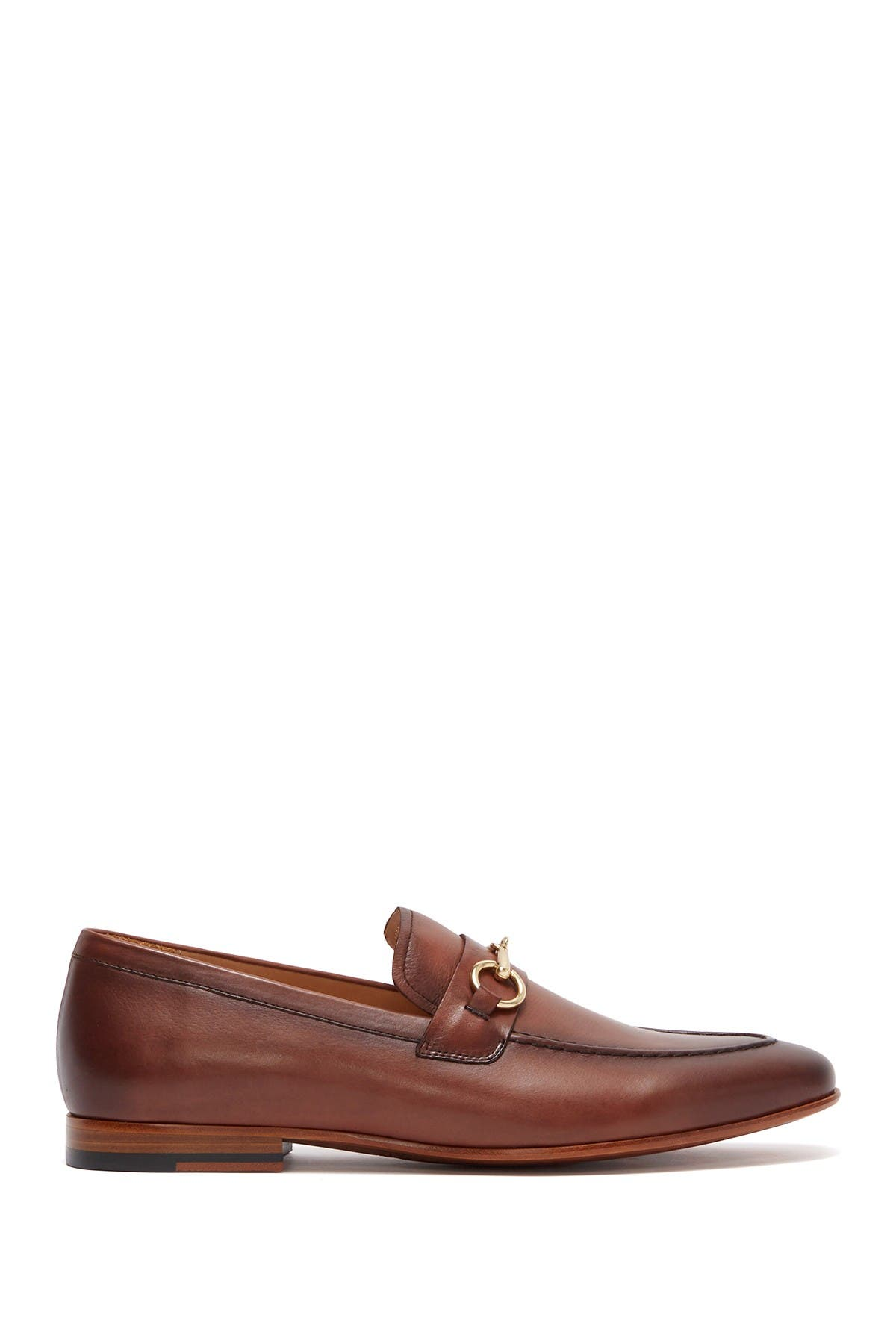 Curatore Brucato Bit Leather Loafer