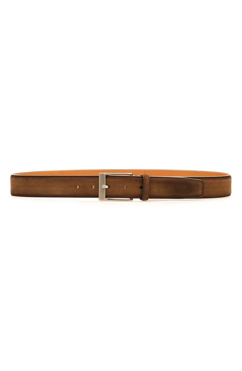 MAGNANNI Nube Belt, Main, color, COGNAC