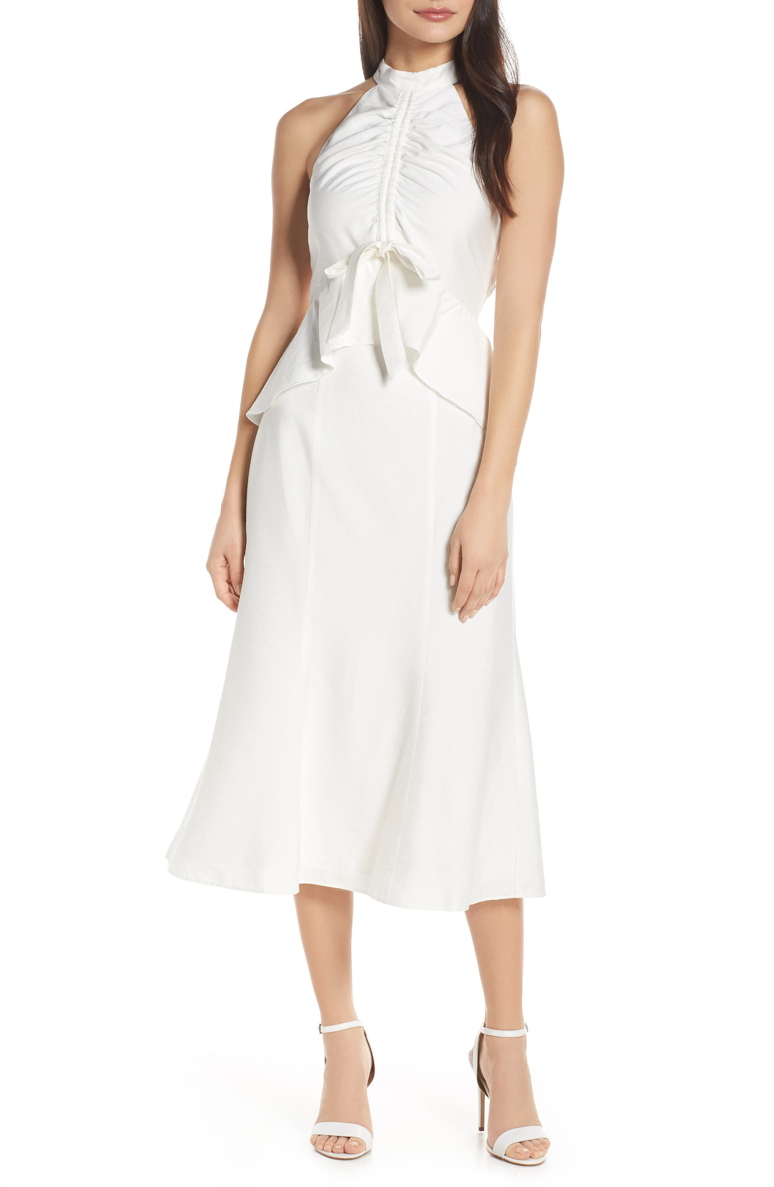 Keepsake The Label Luminous Midi Dress, Ivory