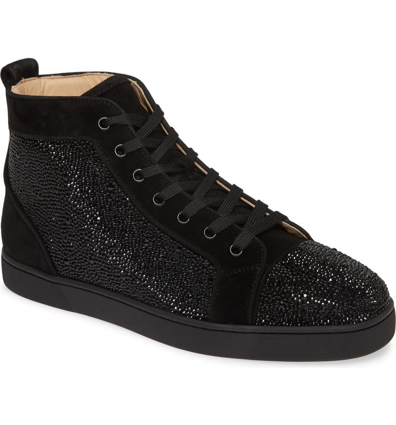CHRISTIAN LOUBOUTIN Louis Sneaker, Main, color, BLACK