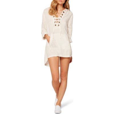 L Space Love Letters Cover-Up Tunic