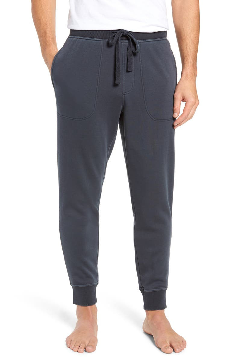 UGG<SUP>®</SUP> Jakob Washed Jogger Pants, Main, color, Charcoal