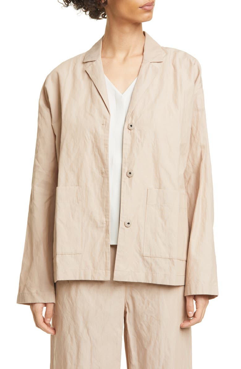 EILEEN FISHER Boxy Jacket, Main, color, 274